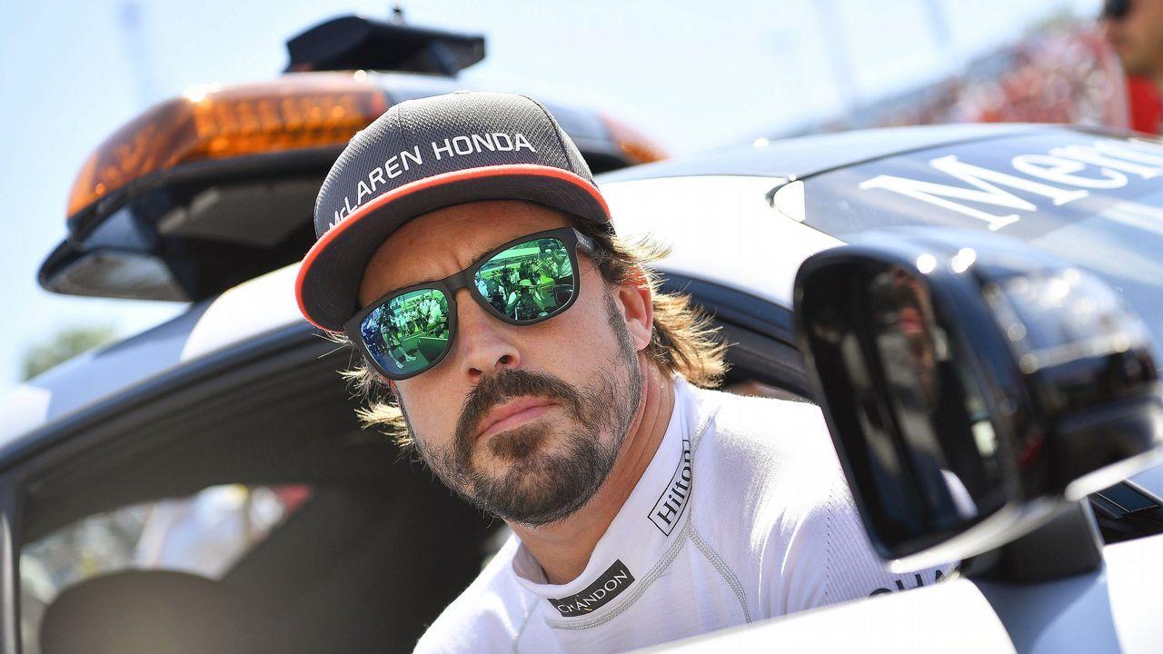 Fernando Alonso en Asturias