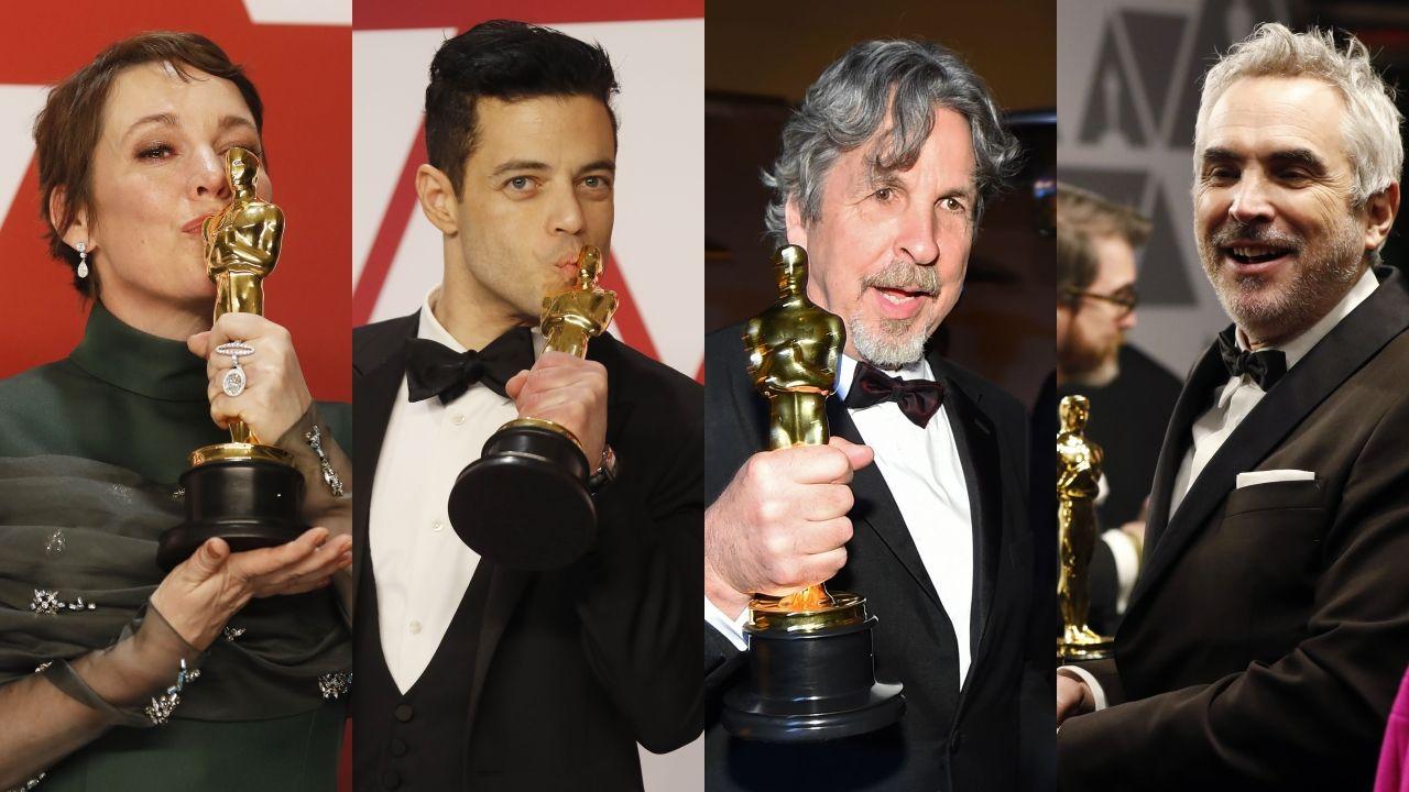 Todas las fotos de lagala de los Óscar 2019