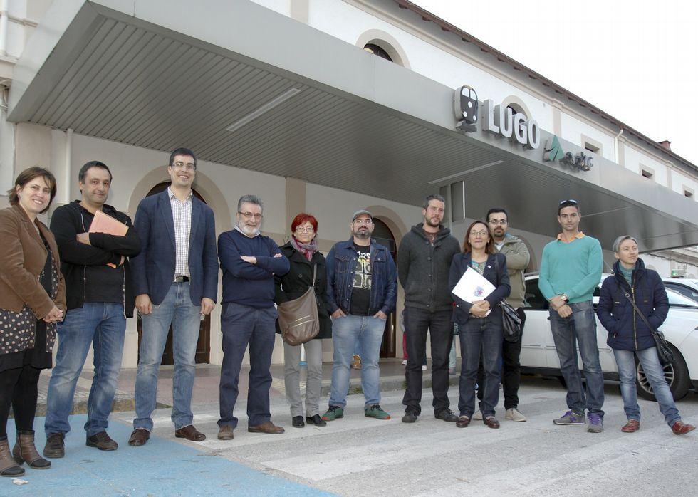 La estación de Lugo necesita mejores servicios para que resulte cómoda para los usuarios.