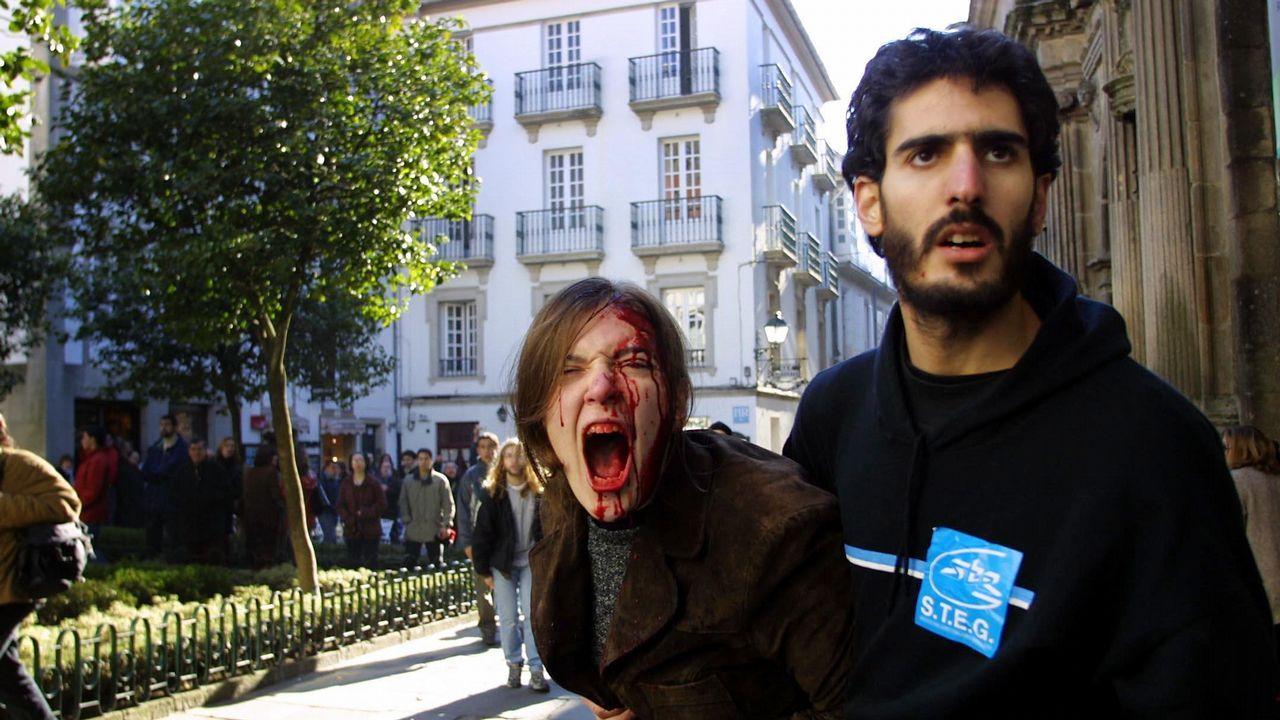 Exposición retrospectiva de «Compostela, un ano de Voz»
