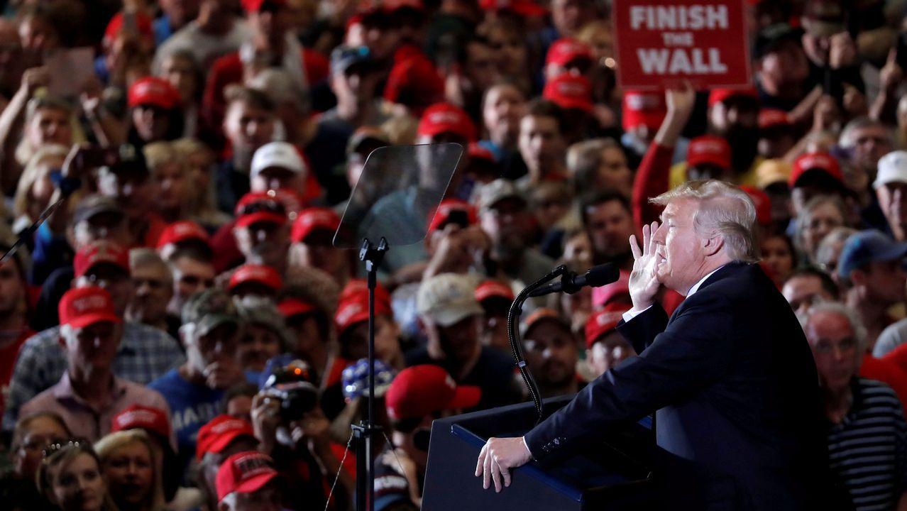 La vida de George H. W. Bush, en imágenes.Trump participí anoche en los cierres de la campaña a las legislativas en Cleaveland, Ohio, Indiana y Misuri
