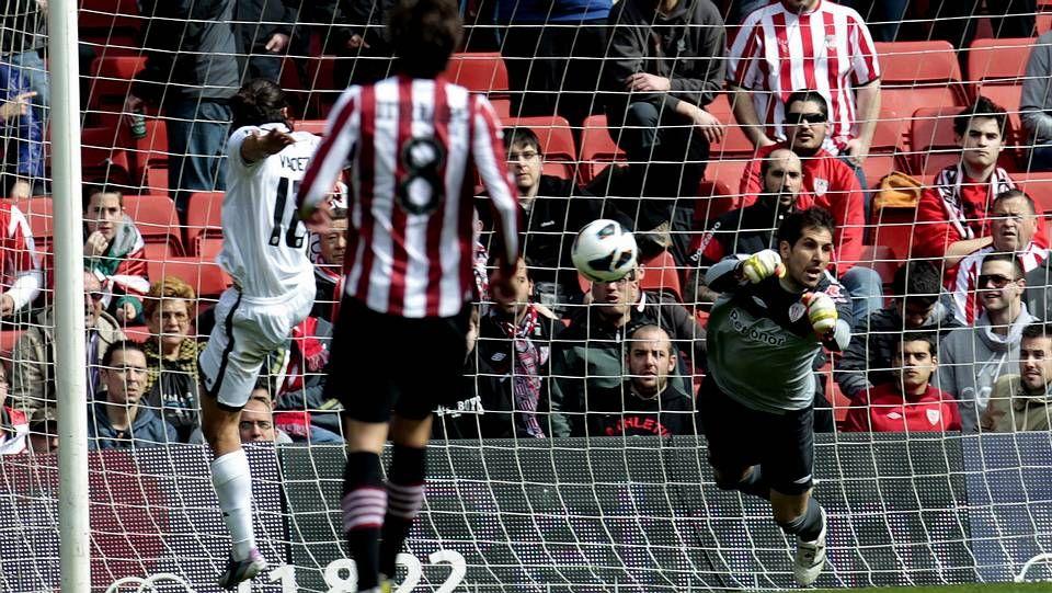 Iago Aspas, contra el Valencia esta temporada