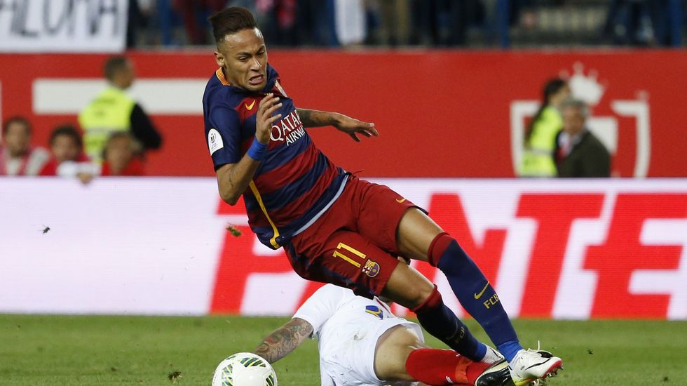 Neymar, en una imagen de la pasada temporada