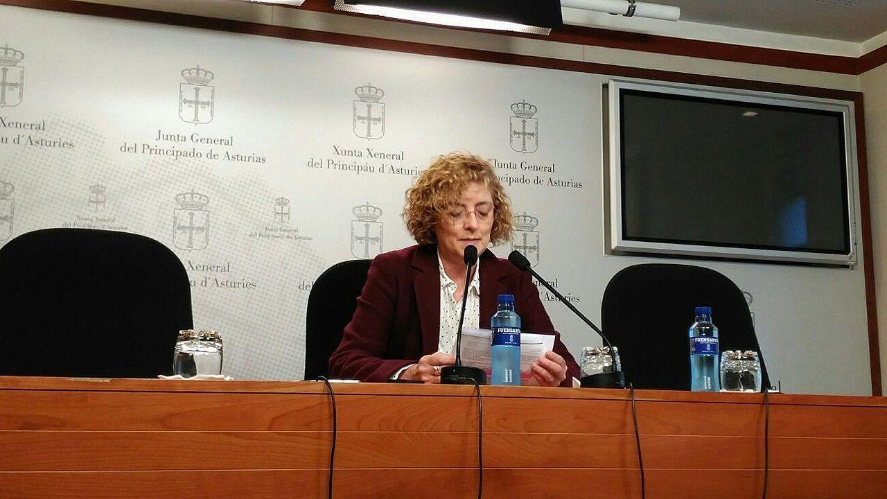 La diputada del PP Gloria García