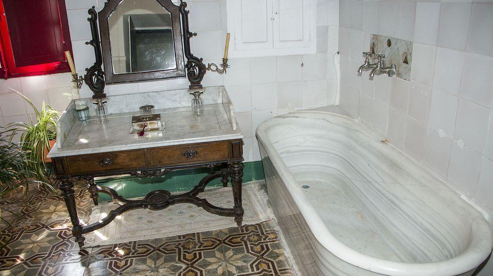Cuarto de baño del pazo