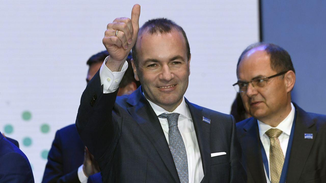 Merkel y Weber chocan sus frentes al saberse que este será el cabeza de cartel popular