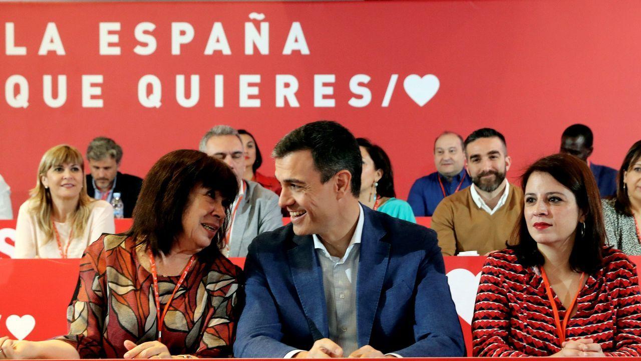 Aguado asegura que Cs no pactará con el PSOE en la Comunidad de Madrid.Teresa Mallada, durante su etapa como presidenta de Hunosa, en la presentación de las visitas guiadas al Sotón, en Fitur