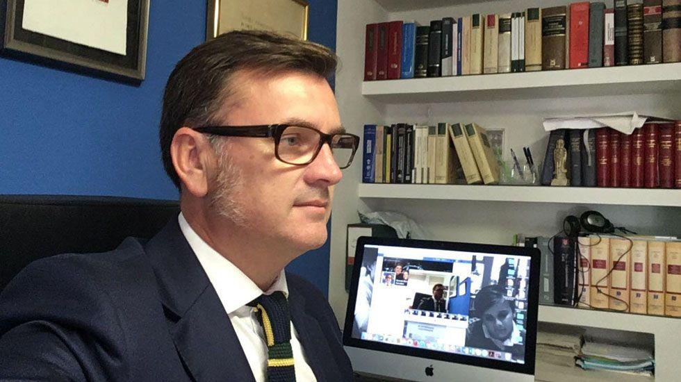 Gonzalo Botas, abogado del Jefe de Policía de Cudillero