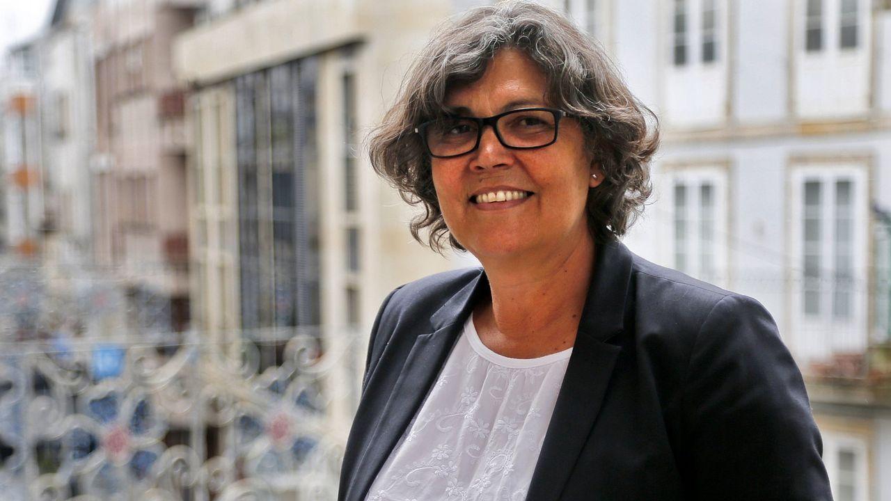 La alcaldesa, la semana pasada en el banquillo