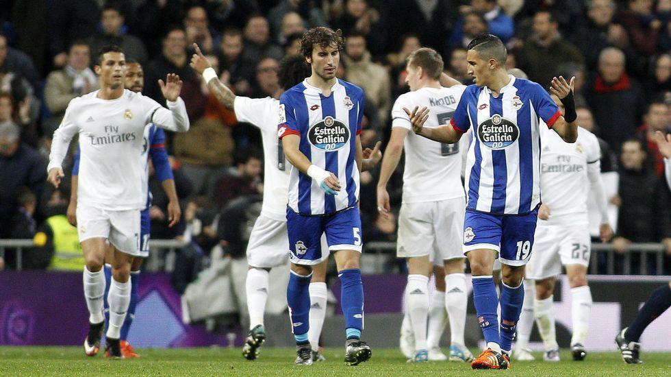 El Real Madrid-Deportivo, en fotos.