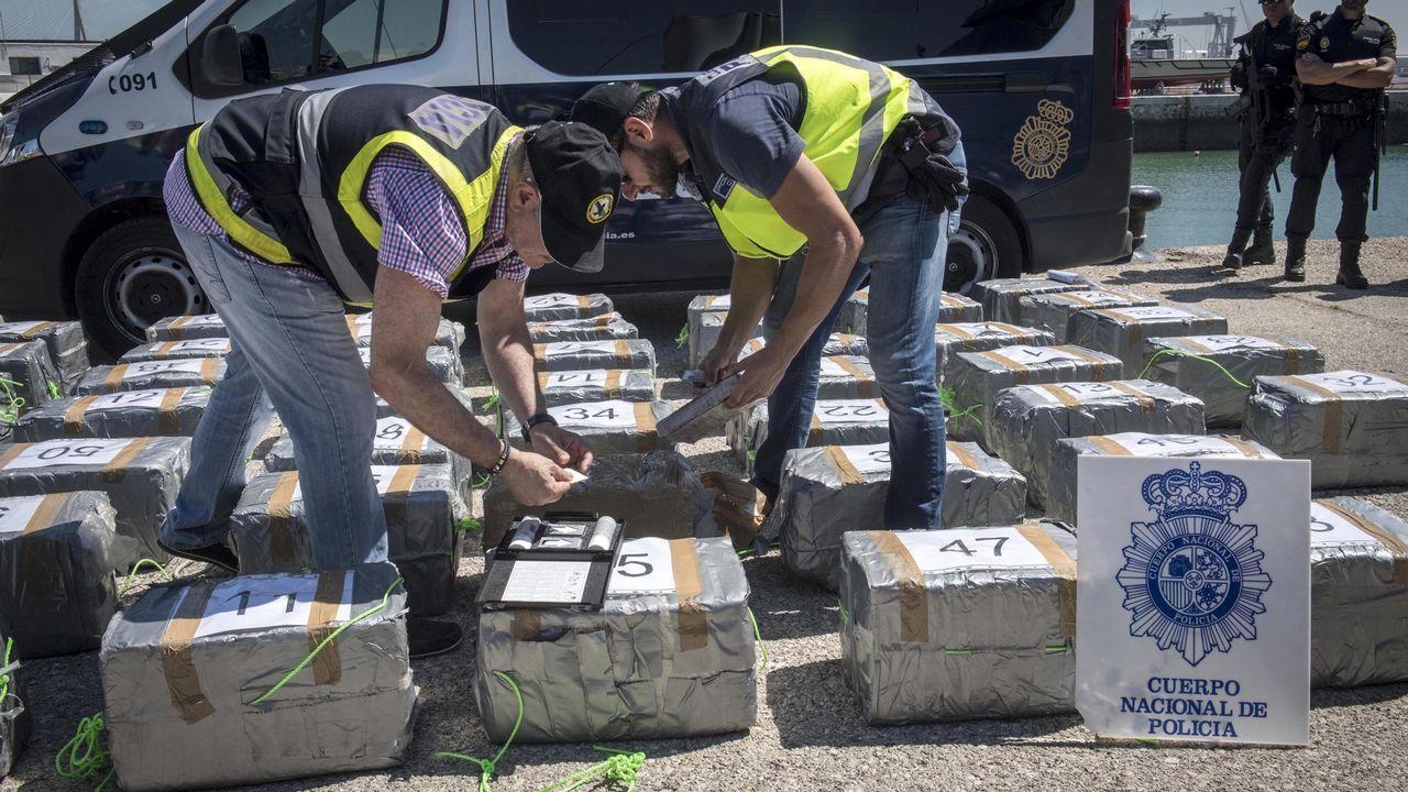 Así opera el Servicio de Bienes Decomisados al Narcotráfico.Juan Manuel Romero (PP) y Juan Marín (Ciudadanos), en una imagen de archivo