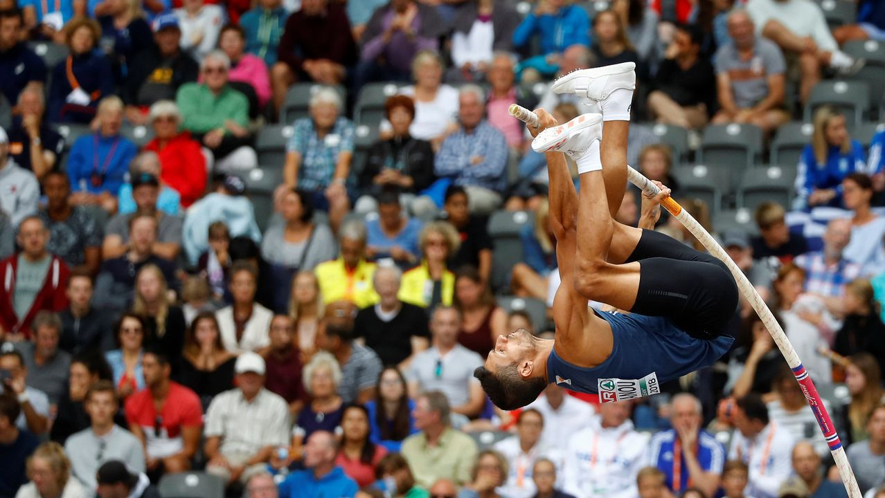Campeonato de Europa de 2018 - Clasificación de salto con pértiga masculino - Estadio Olímpico, Berlín, Alemania