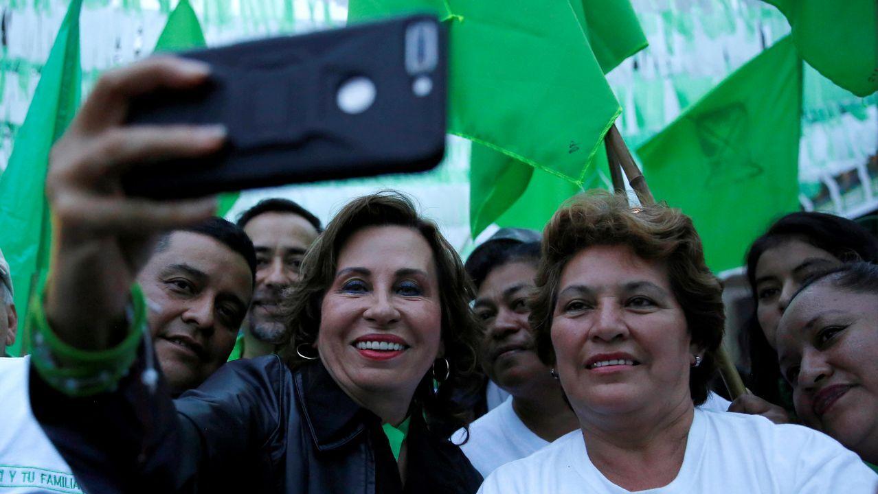 El perfil de Ignacio Cuesta.Torres, a la izquierda, es ahora la gran candidata a presidir el país.