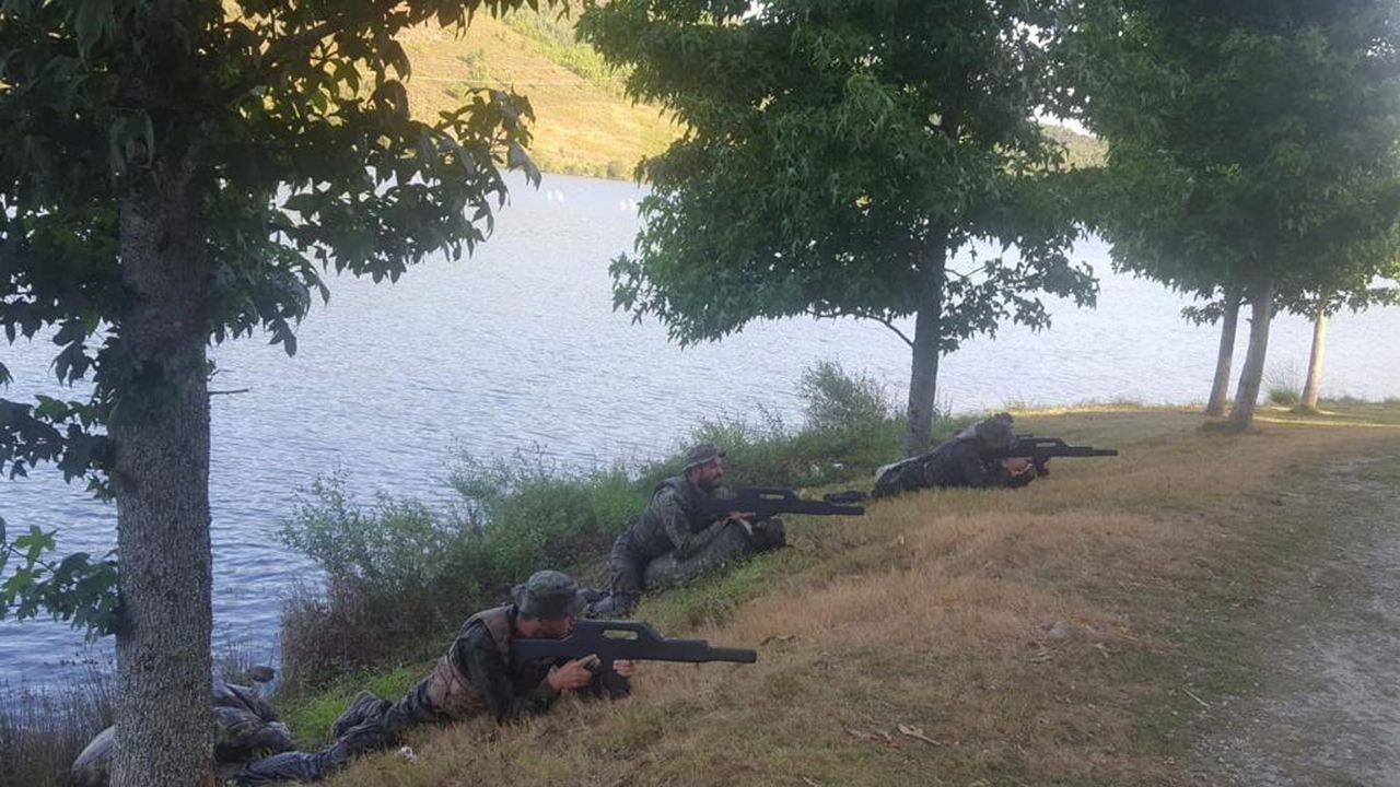 El Ejército del Aire despliega sus alas en defensa de Santiago