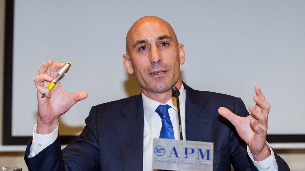 Rubiales anuncia sus aspiraciones de presidir la RFEF.