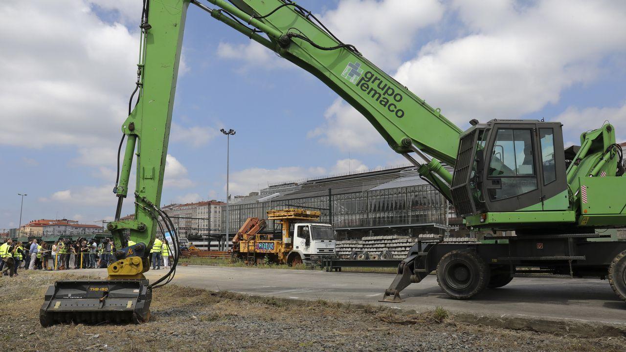 Arranca la construcción de la nueva estación de autobuses en el área ferroviaria