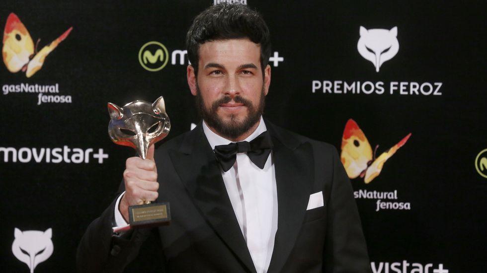 .Mario Casas fue uno de los premiados en la anterior edición.