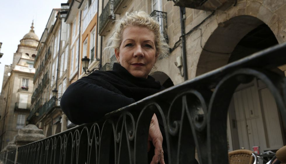 Jennifer Clement cree que la cita del PEN en Ourense será muy numerosa y participativa.