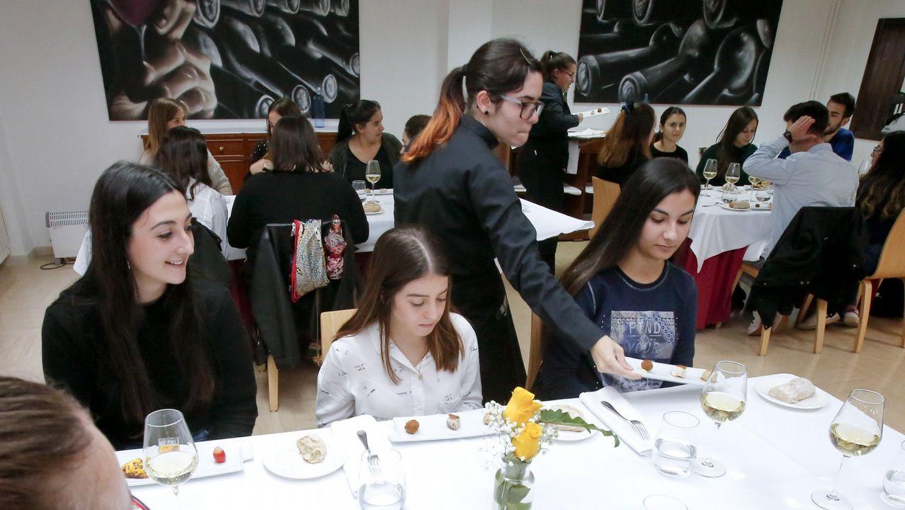 Sigue en directo la promoción de Vigo en Fitur.Restaurante «Mil Setecientos 52» del Hotel de la Reconquista