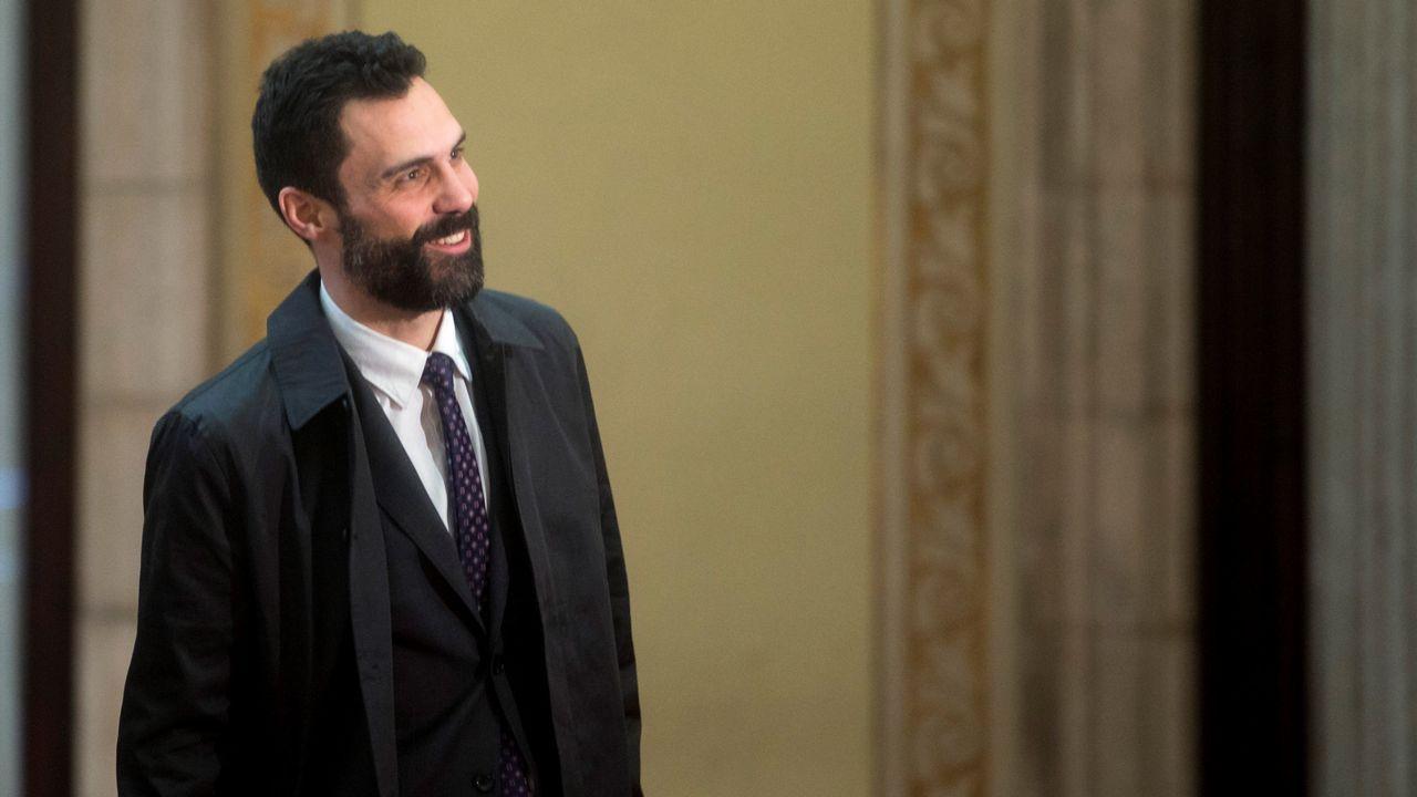 .El presidente del Parlamento catalán rechazó ayer las propuestas para desbloquear la legislatura