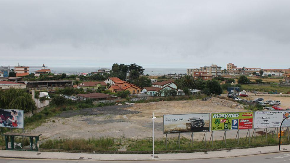 Terrenos de la Ería del Piles, en Gijón