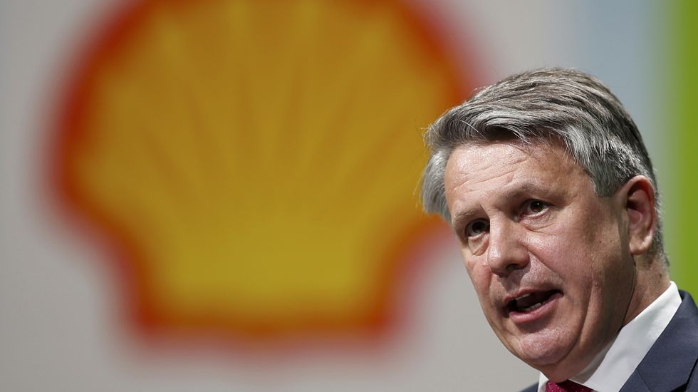 El presidente de la petrolera Royal Dutch Shell, Ben van Beurden