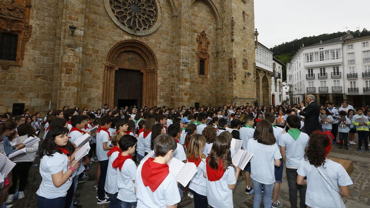 O concerto celebrouse o ano pasado en Mondoñedo