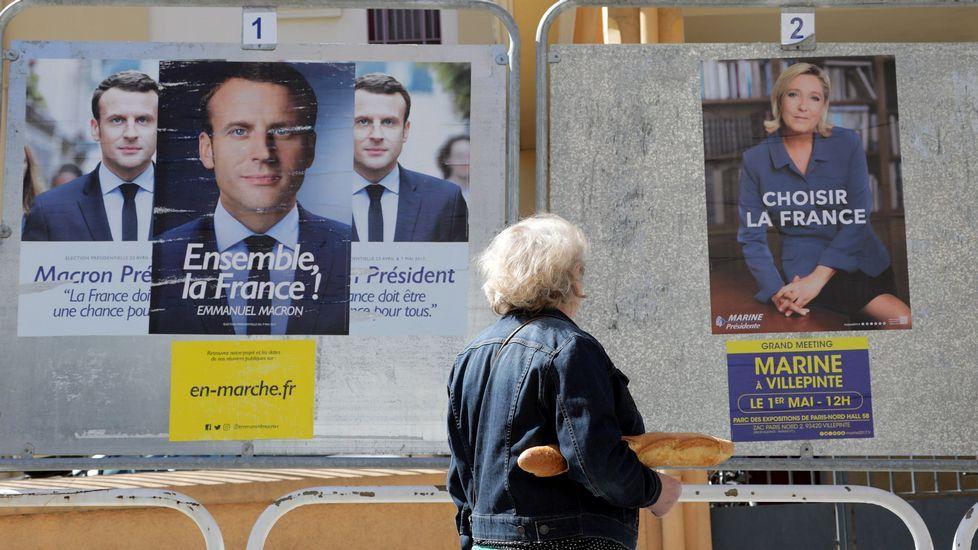 Francia elige entre Le Pen y Macron