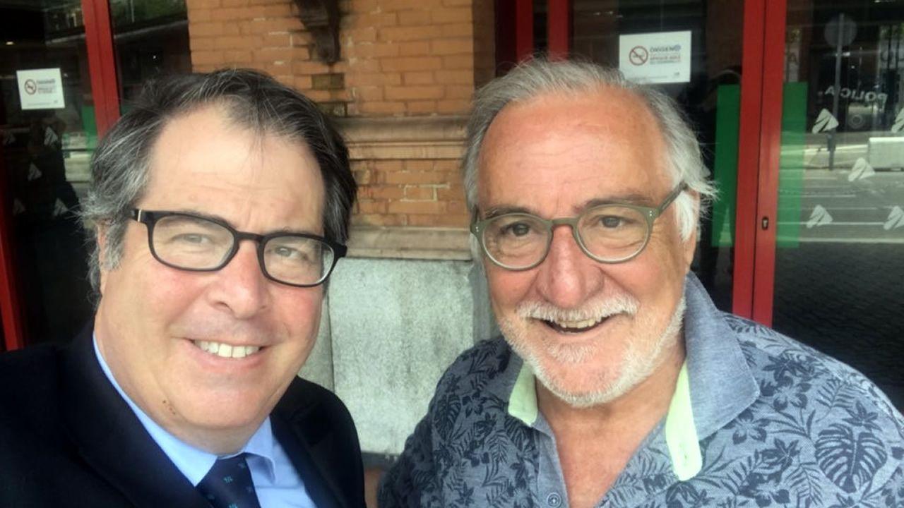 Gregorio Serrano y Pere Navarro