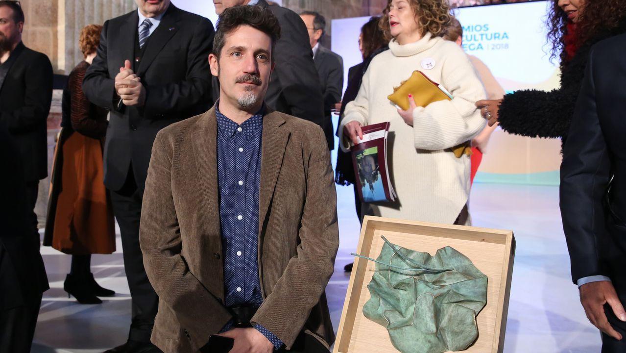 O escultor Acisclo Novo deseñou o premio