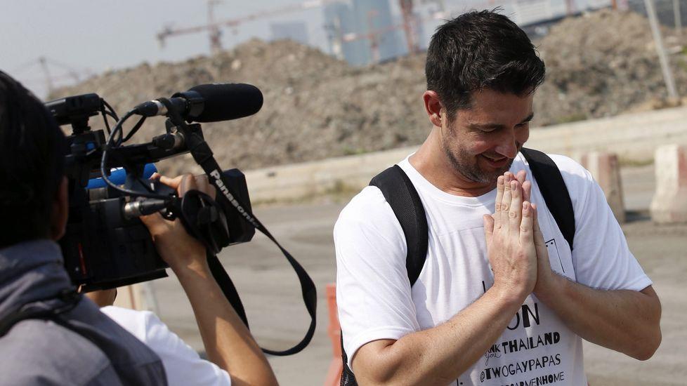 .Manuel Santos, un español que consiguió, después de un largo proceso, que la justicia tailandesa le concediera a él y a su pareja la custodia de su hija subrogada