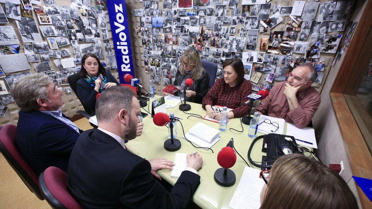 Noriega, Ferreiro y Suárez lograron en 2015 hacerse con las alcaldías de Santiago, A Coruña y Ferrol para las mareas