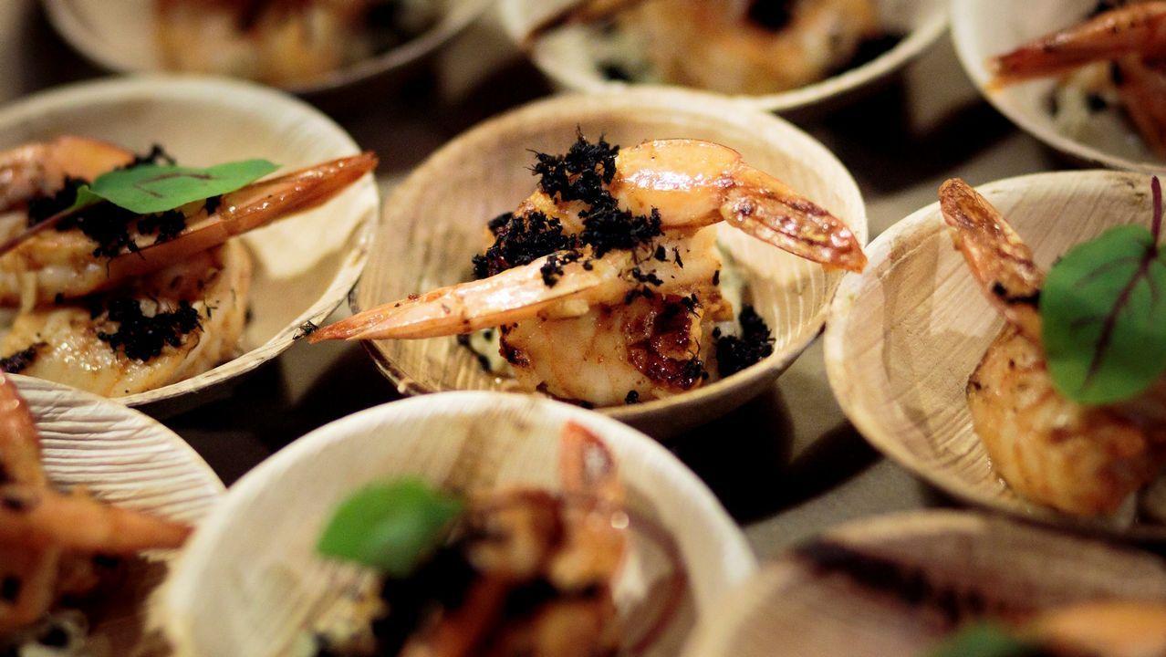 .Una de las propuestas del chef Joseph Yoon