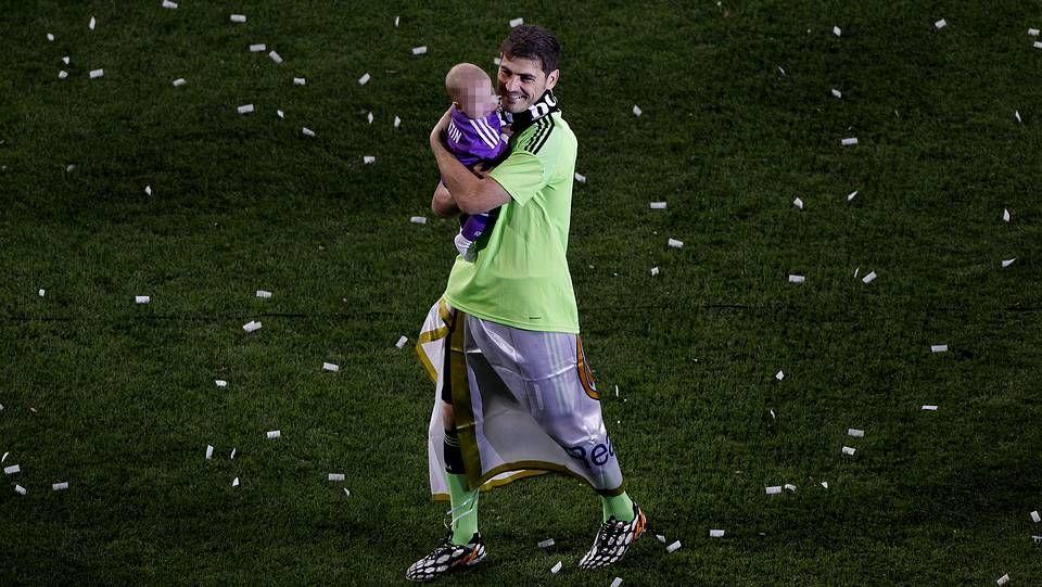 Casillas y Martín celebran la décima