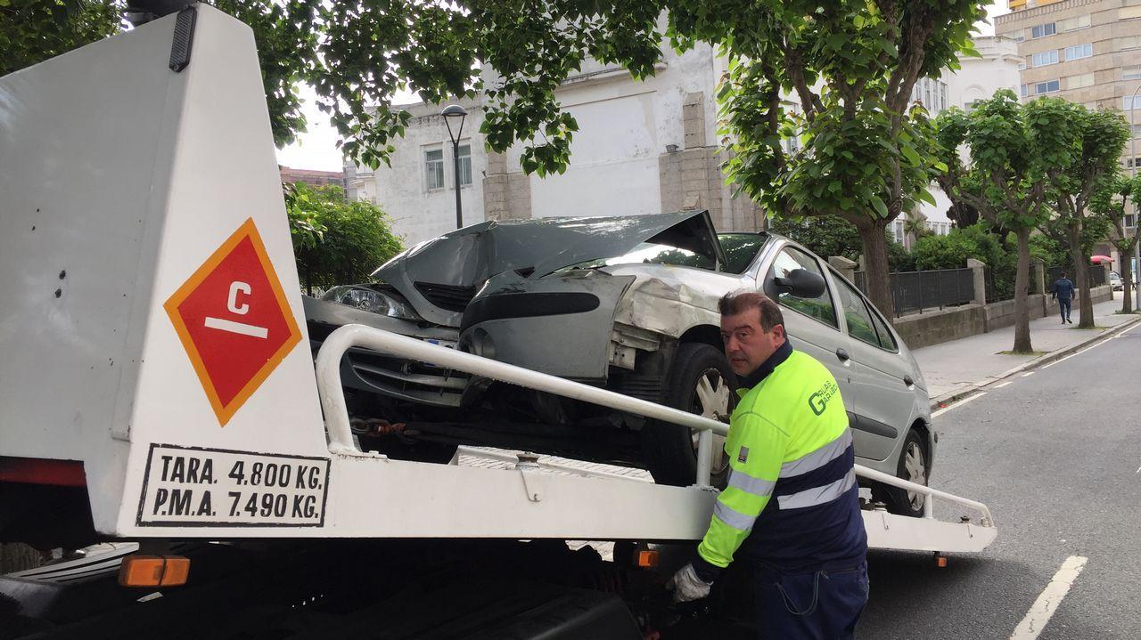 Accidente en avenida Gran Canaria.