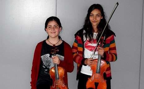 Ruptura Sergio Ramos y Pilar Rubio.Alumnas del conservatorio seleccionadas por la Orquestra Sinfónica