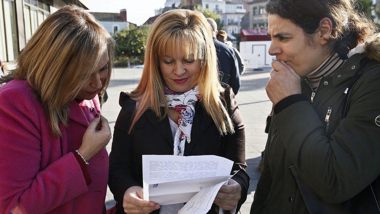 Denuncian el desahucio de una mujer víctima de violencia de género con tres hijos en Vigo.Spa de Ciudad Naranco
