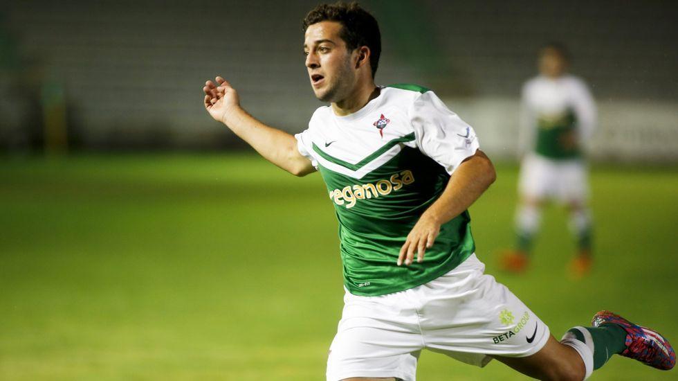 Diego Vela llegó al Racing de Ferrol en el verano del 2013