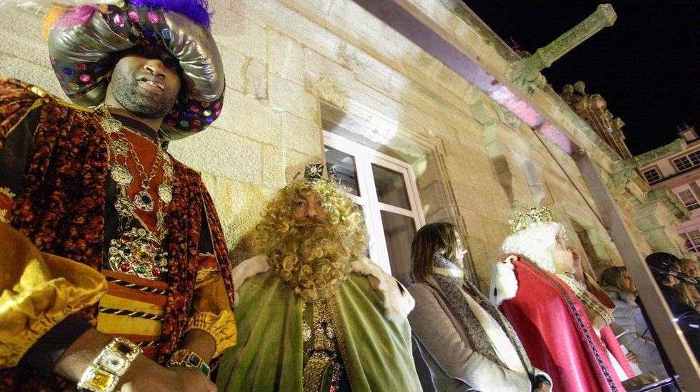 Mítin político de los Reyes Magos en Lugo