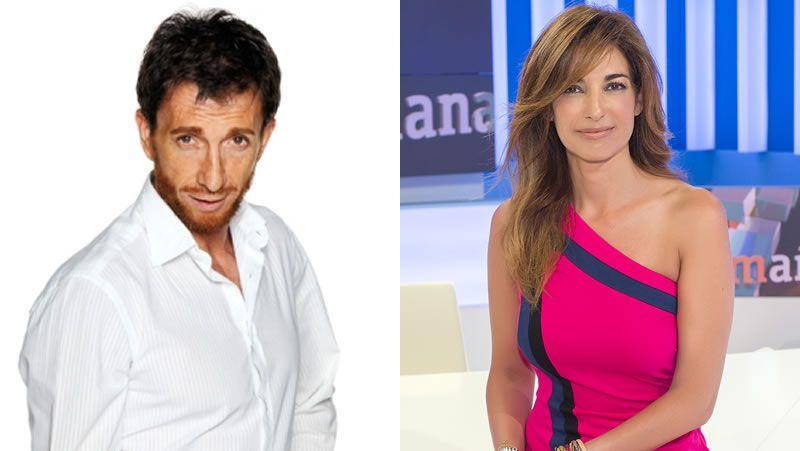 Mariló Montero y Pablo Motos.Adriana Ugarte es la actriz principal de la exitosa serie.