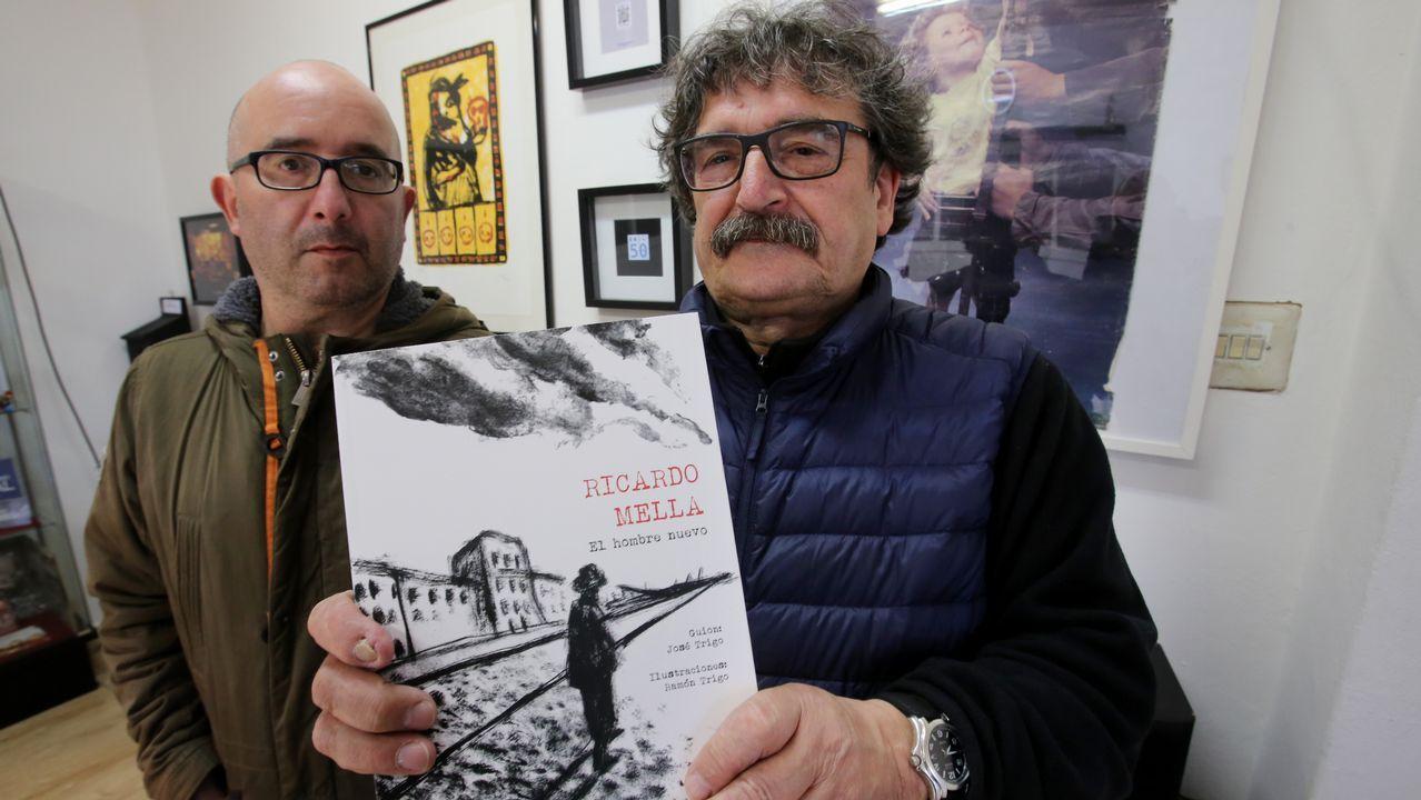 Escotet, recibido por los empleados de Banesco al grito de «valiente, valiente».Manifestación en defensa de las pensiones públicas en Oviedo