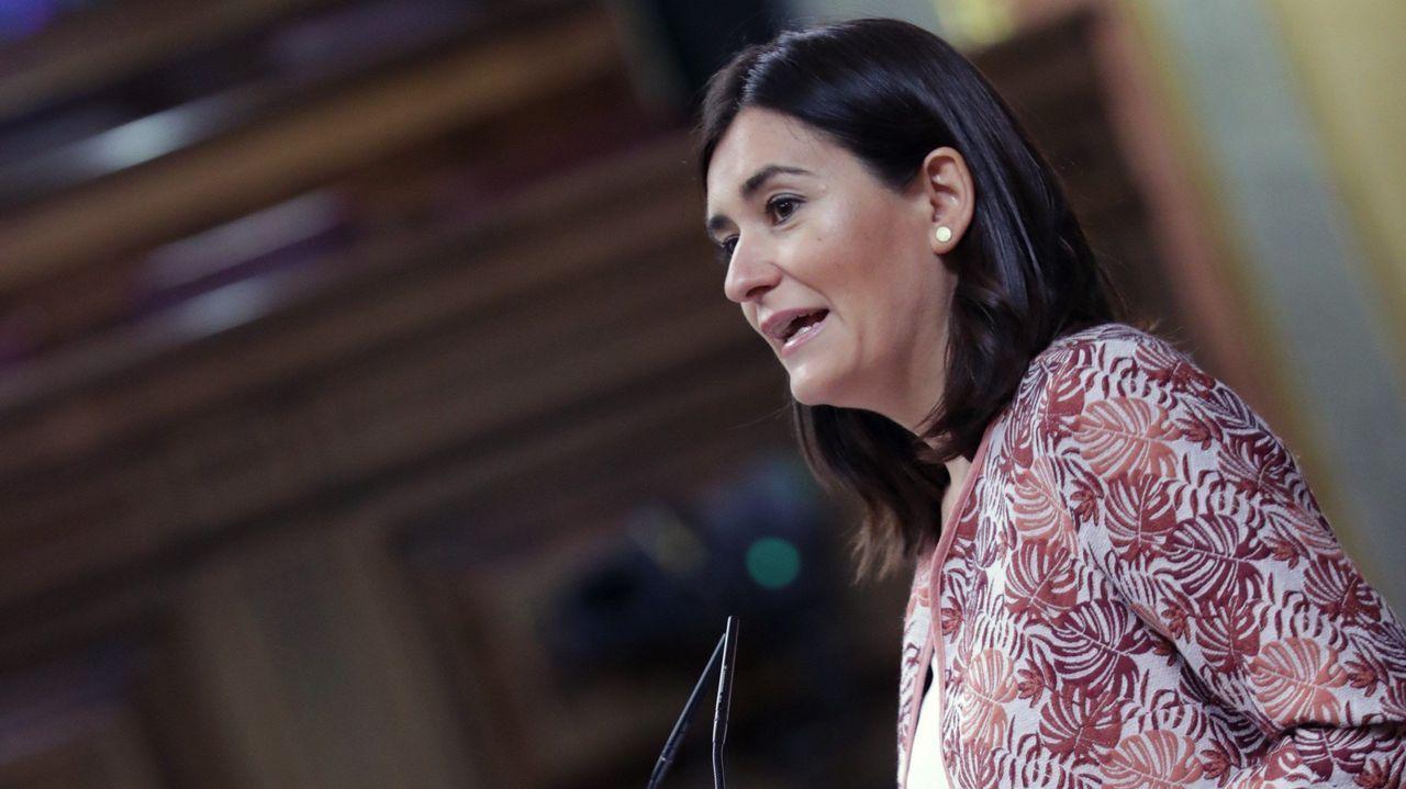 Montón dimite por las irregularidades de su máster.María Luisa Carcedo