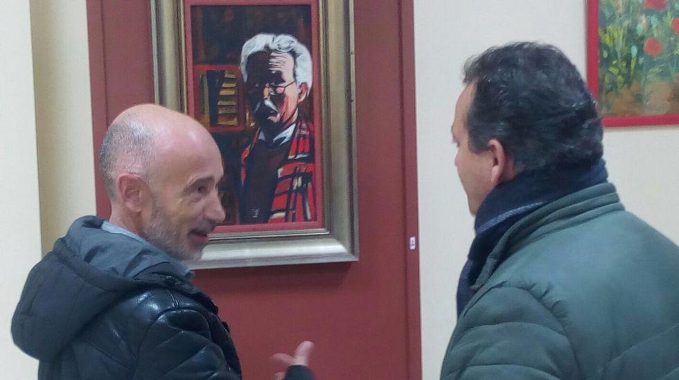 Krohn-Dehli ya está en A Coruña.Edu Polo y Xavi Hernández