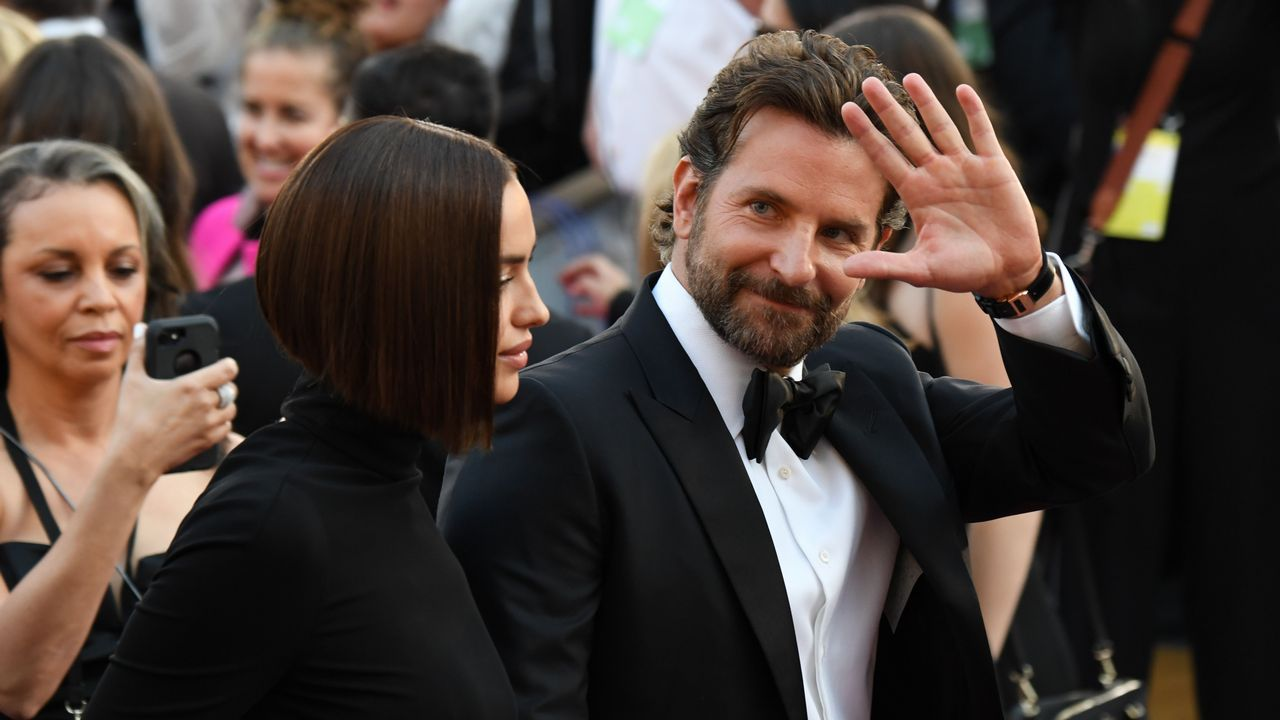 Bradley Cooper y su pareja Irina Shayk