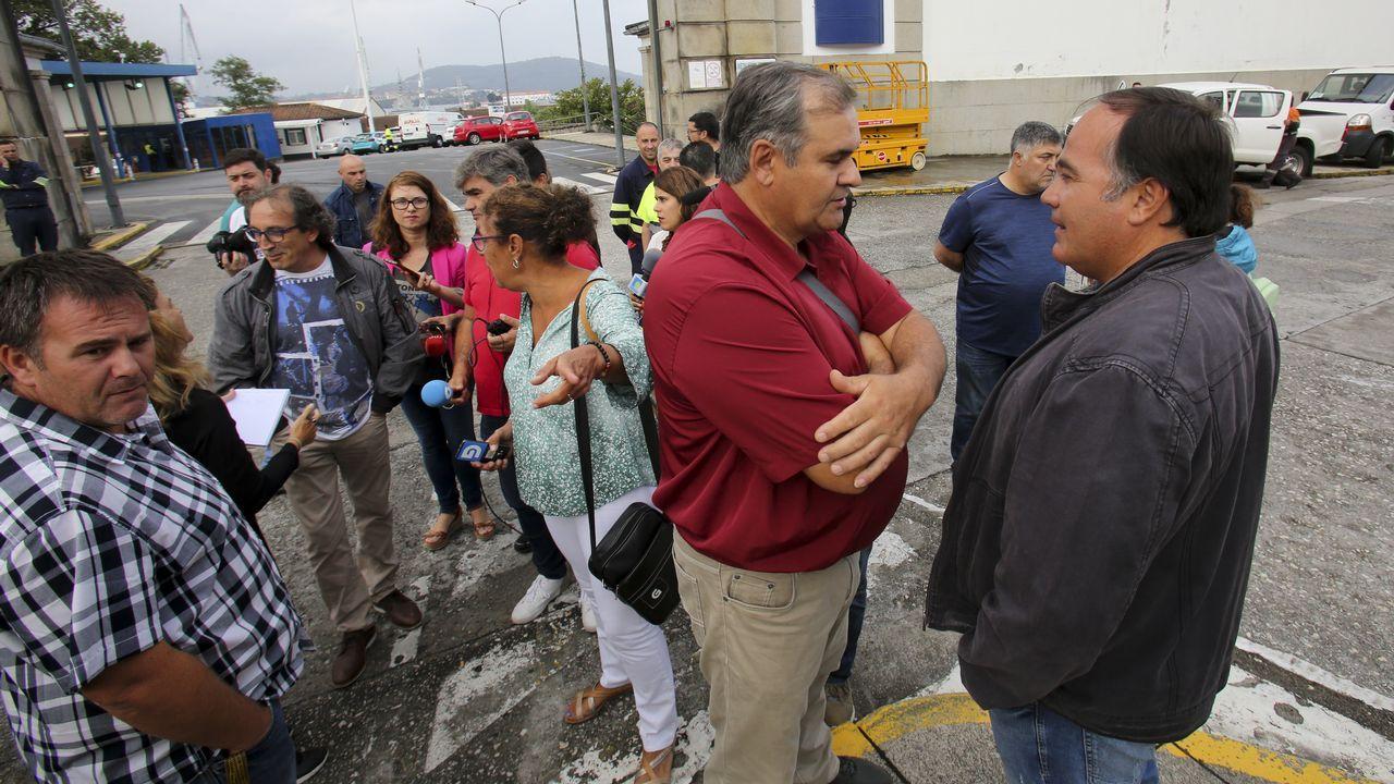 Movilizaciones de trabajadores de Navantia en San Fernando por el temor a cancelar el contrato con Arabia Saudí