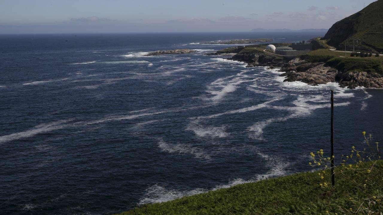 Tres nuevos embalses a un paso de Galicia.En la imagen se observan los avances de la infraestructura que tiene que estar terminada en un año