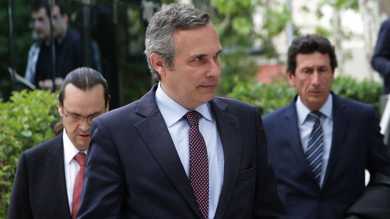 .El historiador Josep Lluis Alay, antes de declarar