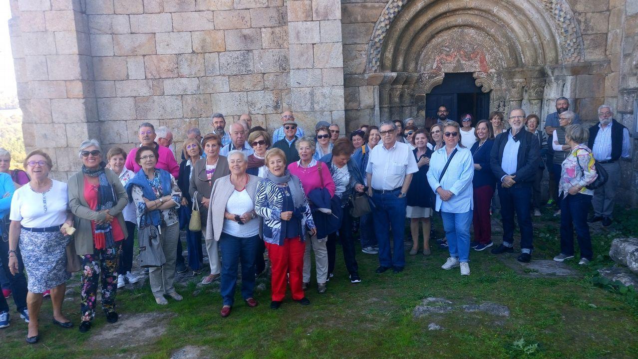 Ana también dejó su huella en Ourense