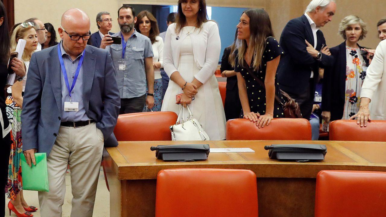 El abogado de Puigdemont, Gonzalo Boye, tuvo que presentar su documentación en el registro como le ordenó una funcionaria de la Junta Electoral.Bosch, en el acto celebrado en el Instutoto Nacional de los Pueblos Indígenas de México