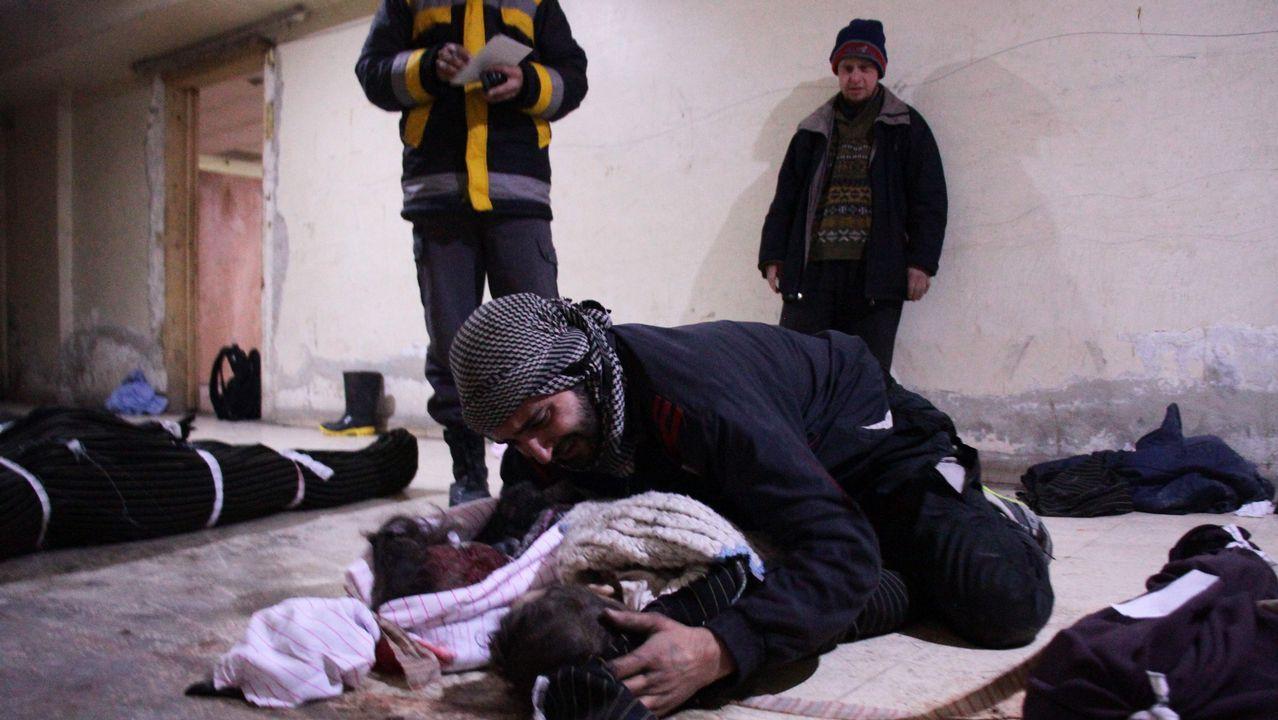 La tragedia de Guta suma 500 muertos.Rohaní, Erdogan y Putin se reunieron en la capital turca para tratar el conflicto sirio